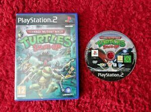 Teenage Mutant Ninja Turtles Smash-Up PlayStation 2 PS2 PAL Mint Disc No manual