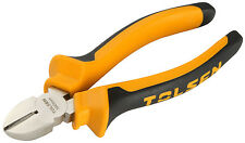 """Diagonal Side Cutting Wire Cutters/ Snips 6"""" (160mm) Pliers Snips (Tolsen)"""