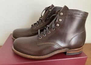 NIB Wolverine Original 1000 Mile Boots BROWN W05301 Size 13 D MADE IN USA F1st