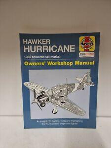 Haynes Hawker Hurricane Owners Workshop Manual 1935 Onwards (K2)
