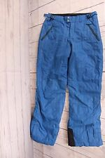 Columbia Blue Adjustable Waist Snow Ski Board Pants Size 18/20 Youth