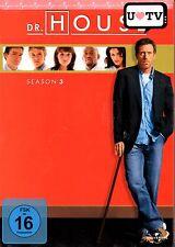 DR. HOUSE: Die komplette Season/Staffel 3 - DVD-BOX - Hugh Laurie - NEU in Folie