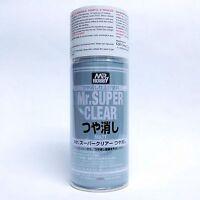 Mr Super Clear FLAT Matte Matt 170ml Spray Sealant B514:700 Model NEW VERS Hobby