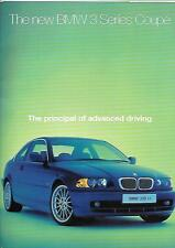 BMW 3 SERIES 323Ci AND 328Ci COUPES  E46. LATE 90s. SALES BROCHURE