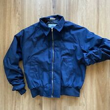 Vintage US Coast Guard DSCP Military Canvas Bomber Jacket Insulation Lining M