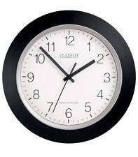 Atomic Clock 12 Inch, Black