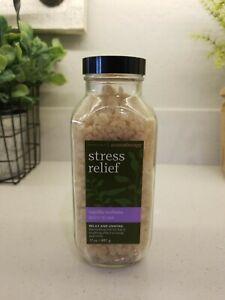 Bath And Body Works Stress Relief Vanilla Verbena Bath Soak