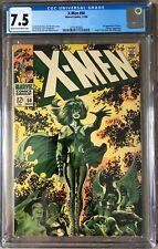 X-Men 50 CGC 7.5 Classic Steranko Cover Polaris Marvel 1968