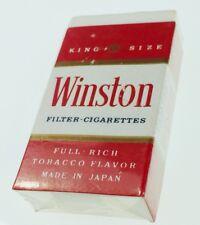 Vintage Winston Cigarette Pencil Eraser New In Package 1980s Japan