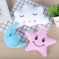 Cute Small Moon Star Cloud Nap Pillow Throw Pillow Plush Doll Toy Home Decor