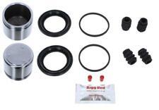 DAEWOO LEGANZA 1997-2004 FRONT L & R Brake Caliper Seal Kit +Pistons (BRKP502)