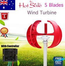 12V 400W Vertical Axis VAWT Lantern Wind Turbine Generator & Controller Garden