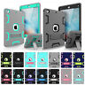 Hybrid Rubber Shockproof Stand Case Cover For Apple iPad 9.7 2018 6th Gen A1893