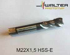 M22X1,5 Walter Prototyp Gewindebohrer Neu Original