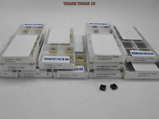 UNOPENED BOXES (1 OPENED) : 60+50pcs.SECO SPGX ,SCGX DRILL PACK,SIZE: 05 - 15