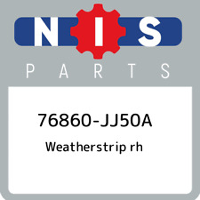76860-JJ50A Nissan Weatherstrip rh 76860JJ50A, New Genuine OEM Part