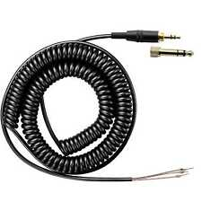 Coiled Repair Cable Cord For ATH-M50 ATH-M50s SONY MDR-7506 7509 V900 Headphones