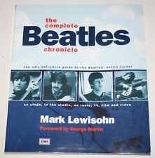 THE COMPLETE BEATLES CHRONICLE 1995 UK Book by Mark Lewisohn libro inglés
