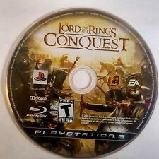 The Lord of the Rings: Conquest (Sony PlayStation 3, 2009) DISC ONLY 5918