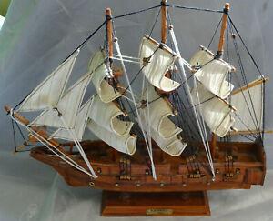 Modellschiff Segelschiff Holz - Blackprince 1795 - sehr schönes Deko Schiff
