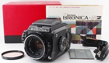 Zenza BRONICA S2A Black Late Model w/ Nikkor P 75mm f/2.8 Lens[Very good]#644075