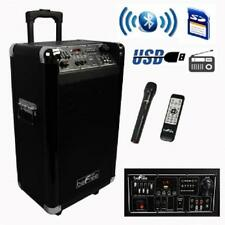 beFree Sound*PROFESSIONAL PORTABLE*Bluetooth*DJ PA PARTY SPEAKER*with Mic,USB,SD
