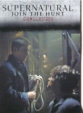 Supernatural Seasons 1-3 Winchester Brothers Chase Card J2 Challenges