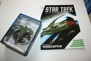 Eaglemoss Collections STAR TREK #163 ORION INTERCEPTOR Ship NEW magazine