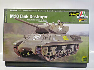 Italieri 15758 M10 Tank Destroyer 1:56 - 28mm OVP/MIB inkl. Vers in D