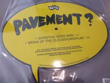 "Pavement - Sensitive Euro Man - Shape 7"" Vinyl // Neu"