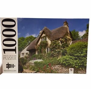 Mindbogglers Jigsaw Puzzle 1000 Pc - Cotswolds Cottage