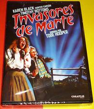 INVASORES DE MARTE / INVADERS FROM MARS Tobe Hooper -English Español DVD R2 Prec