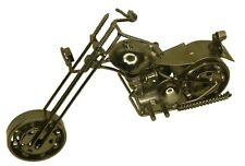 Motor Bike Showpiece Antique Style Classic Handmade Metal Motorcycle Home Decor