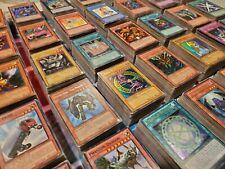 100+ Bulk Lot Yu-Gi-Oh! Cards Commons & Rares LOB to current TCG Anime yugioh