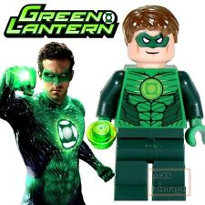 1pc Green Lantern Custom Minifigure fits Lego Building Toy DC Justice League 015