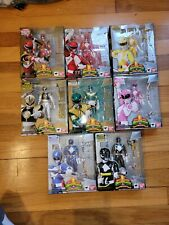 SH Figuarts Mighty Morphin Power Rangers Team Sentai MMPR Complete Set, Lot of 8