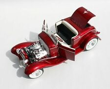 1932 FORD ROADSTER DEUCE CANDY APPLE RED 1:18 ACME VINTAGE STREET GMP RODDER