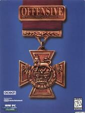 Offensive PC CD Ocean of America World War 2 battlefields strategy command game!
