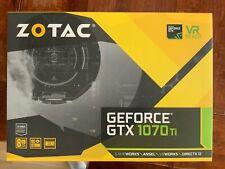 ZOTAC NVIDIA GeForce GTX 1070 Ti Mini 8G 8GB GDDR5 256-bit Graphics Card
