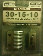 NEW 1037-400 Standard Adjustable Replacement Blade Set 30-15-10 Standard Wahl