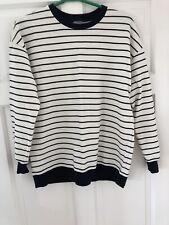 Women's Asos Stripe Jumper Size 8