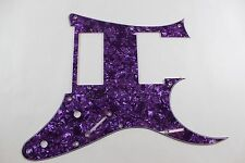 Purple Pearl Pearloid Pickguard Fits Ibanez (tm) Universe UV UV777 7 String- HXH