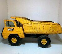Vintage   Ny - Lint  Toys  Pressed Steel  Nylint Jumbo Dump Truck