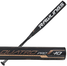"2019 Rawlings Quatro Pro -10 32""/22 oz. Fastpitch Softball Bat FPQP10"