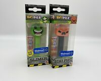 Funko POP! Pez Stay Puft & Slimer Glow In The Dark A Set Of 2 Walmart Exclusive