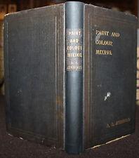 1906 Paint & Colour Mixing Arthur Seymour Jennings 13 Colour Plates 3rd Edition