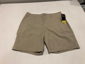 NWT $55.00 Under Armour Mens HG Storm Fish Hunter Shorts City Khaki Size 38