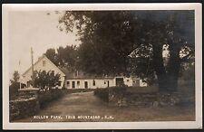 Postcard RPPC Twin Mountains New Hampshire Willow Farm
