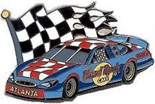 Hard Rock Cafe ATLANTA 2002 STOCK CAR Race Flag PIN - HRC Catalog #14644 Racing