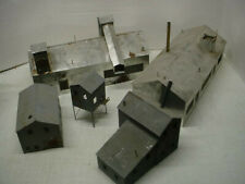 Ho Scale Nice Lot Abandoned Factory And Mill Buildings sheetmetal suydam